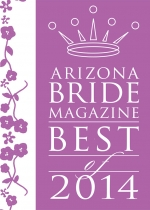 Arizona Bride Magazine Best of 2014 Award